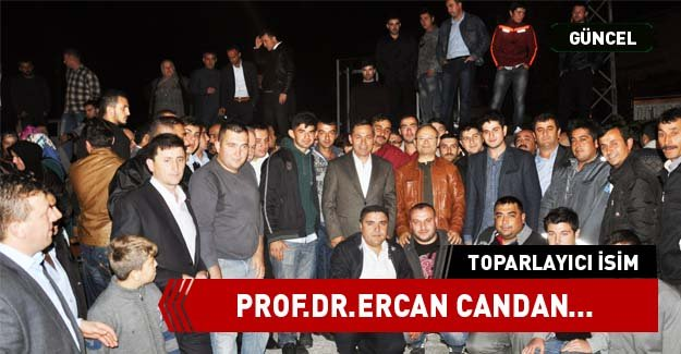 TOPARLAYICI İSİM PROF.DR.CANDAN...