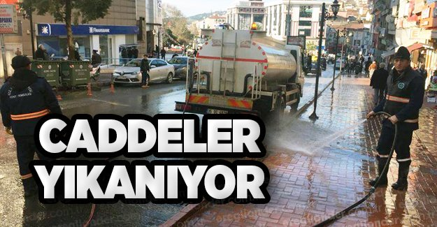 CADDELER YIKANIYOR