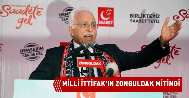 MİLLİ İTTİFAK'IN ZONGULDAK MİTİNGİ