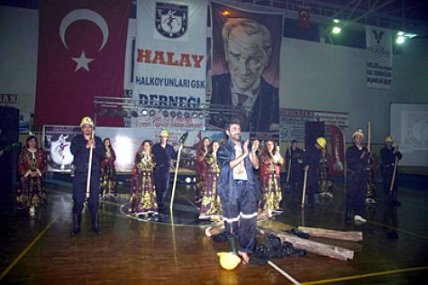HALAY, GRİZU FACİASINI CANLandIRDI