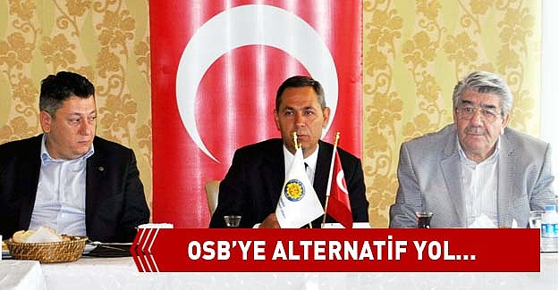 OSB'YE ALTERNATİF YOL