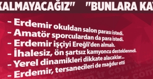 quot;BUNLARA KAYITSIZ KALMAYACAĞIZquot;