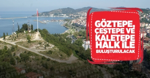 GÖZTEPE, ÇEŞTEPE VE KALETEPE HALK...