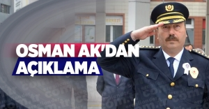 OSMAN AK'DAN AÇIKLAMA