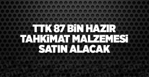 TTK KULLANILAN 87 BİN HAZIR TAHKİMAT MALZEMESİ SATIN ALACAK