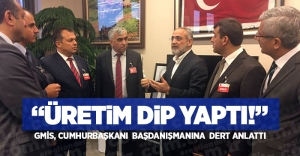 """ÜRETİM DİP YAPTI!"""
