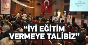 GELECEK BENİM DİYEBİLEN BİR NESİL HEDEFİ...