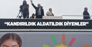 """KANDIRILDIK ALDATILDIK DİYENLER"""