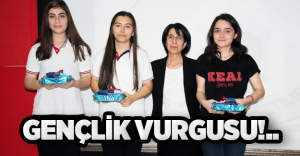 GENÇLİK VURGUSU!..