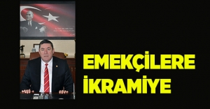 EMEKÇİLERE İKRAMİYE ÖDENDİ