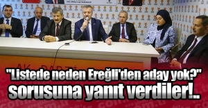 #039;NEDEN EREĞLİ#039;DEN ADAY...