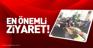 EN ÖNEMLİ ZİYARET...